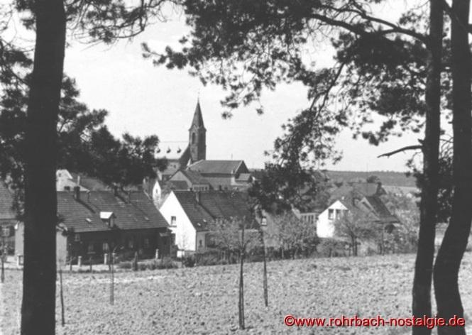 Blick von der Fink auf die Johanneskirche