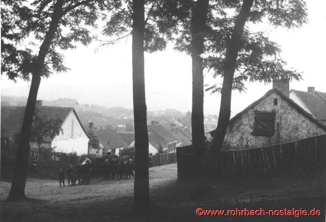 Um 1935 Blick auf die Pullwar