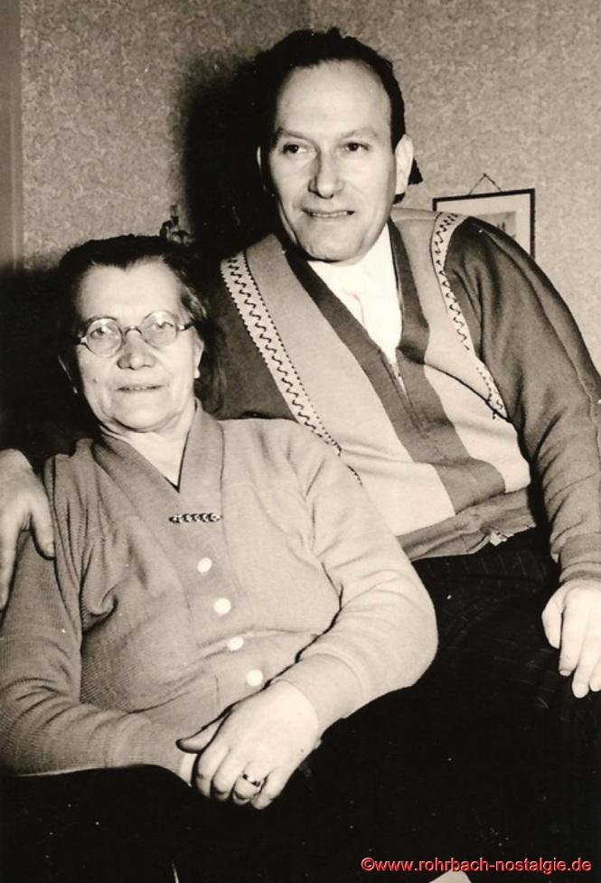 Willi Hardeck mit seiner Mutter Anna