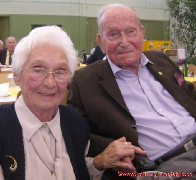 Das Ehepaar Ellen und Willi Hardeck im Jahre 2008