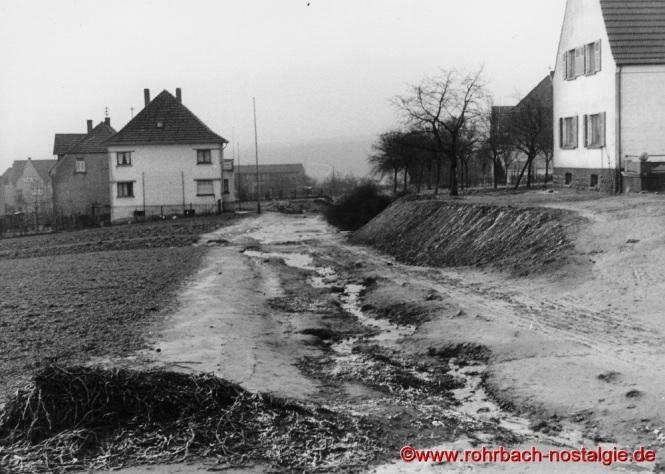 Um 1935 Die Detzelstraße (En de Seye) Richtung Bahnhofstraße