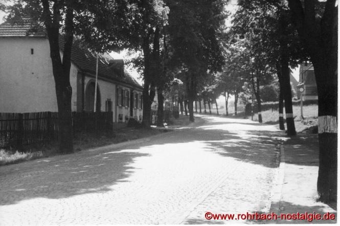 Um 1935 Das alte Forsthaus im Ewwerdorf (Foto: Willi Hardeck)