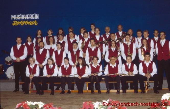 Der Musikverein im Jahre 1993