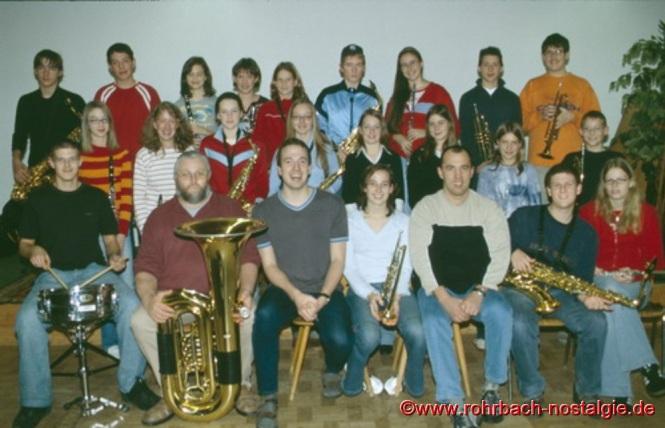 2002 Der Musikverein im Probelokal