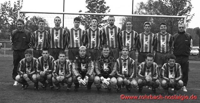 Saison 1998/99 - Die A-Jugendmannschaft der SG Rohrbach/St.Ingbert wird Meister in der Verbandsliga Saar und steigt in die Regionalliga Südwest auf
