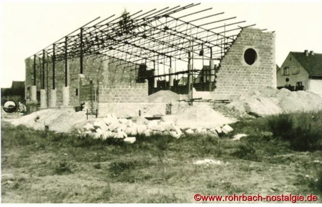 1955 TG Turnhalle im Rohbau