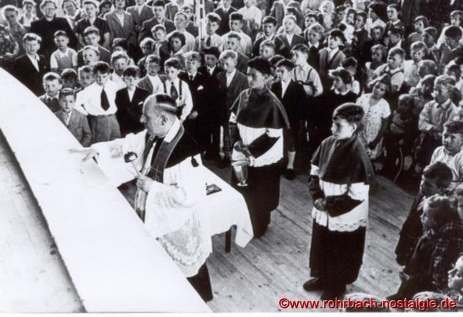 1956 Einweihung TG Turnhalle