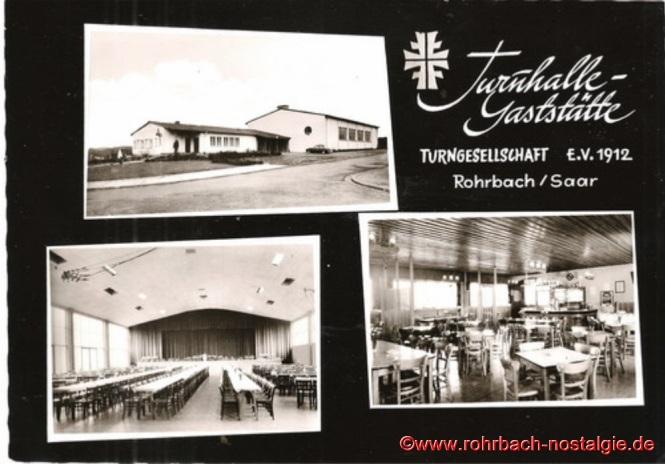 Die Gaststätte wird im Mai 1957 eingeweiht