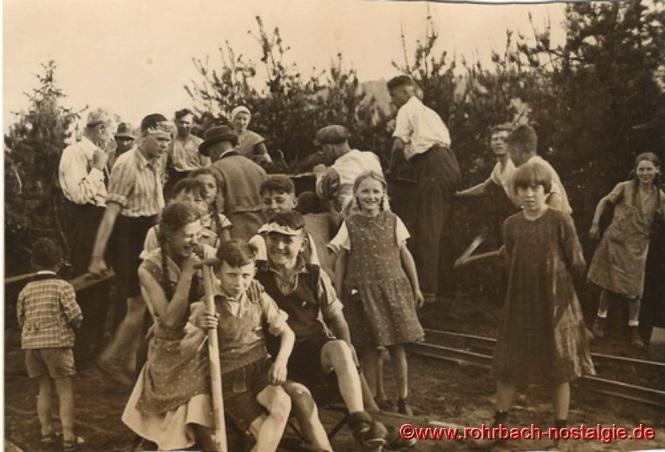 1936 im Frühjahr-Aushub der Christuskirche-1
