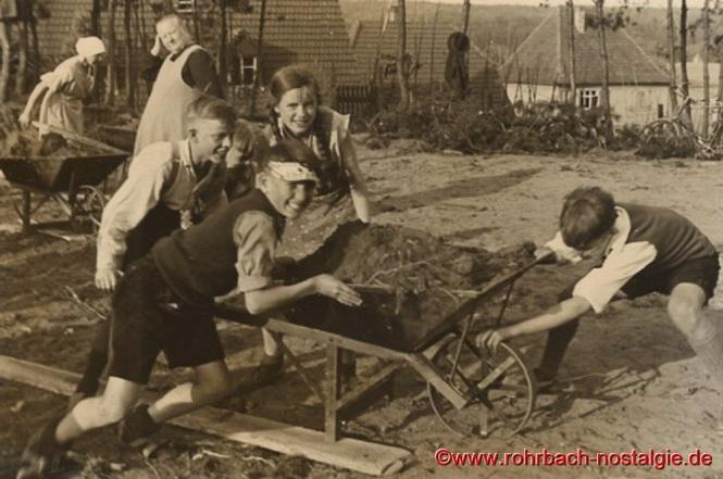 1936 im Frühjahr-Aushub der Christuskirche-3