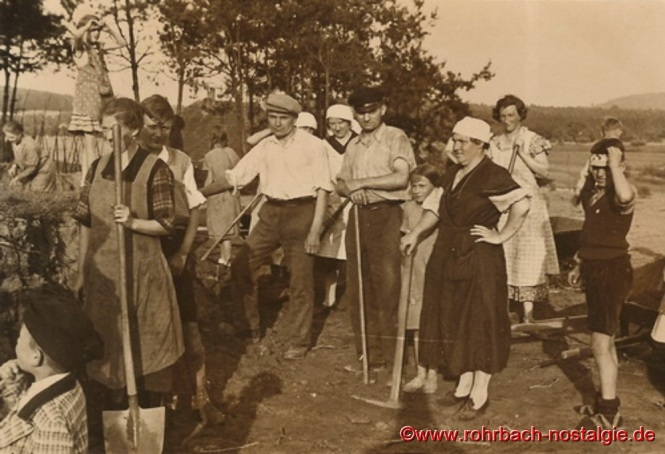 1936 im Frühjahr-Aushub der Christuskirche-4