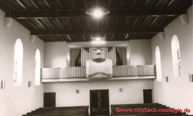 1953 Die neue Orgel in der Christuskirche