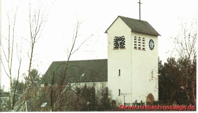 Die evangelische Christuskirche in Rohrbach auf dem Franzosenkopf wird am 5. September 1937 eingeweiht. (Foto: Ewald Schwall).
