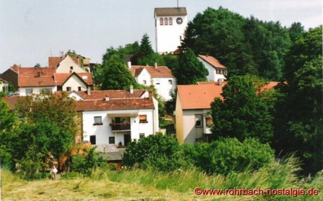 1988 Blick auf die Christuskirche