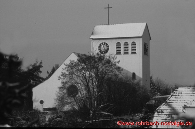 Die Christuskirche im Winter
