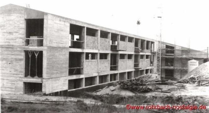 1960 - Die Johannesschule im Rohbau
