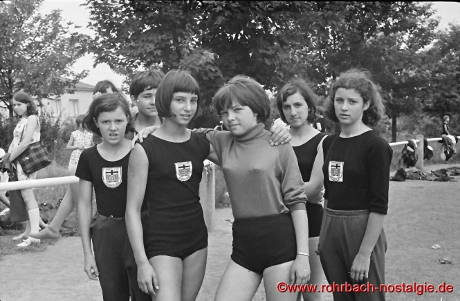 1967 Schülerinnen bei den Bundesjugendspielen