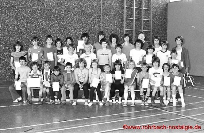 1975 Die Sieger bei den Bundesjugendspielen