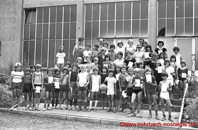 1976 Die Sieger bei den Bundesjugendspielen