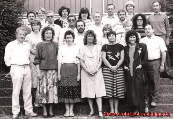 1988 - Das Lehrerkollegium der Johannesschule