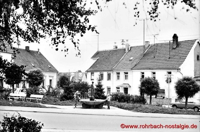 Der alte Johannesbrunnen im Eck
