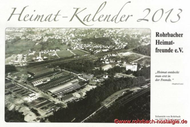 Deckblatt des Heimatkalenders 2013