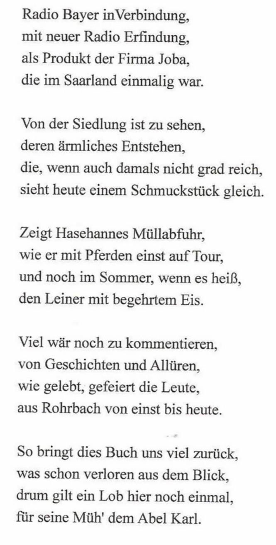 Eine Hommage von Günter Jung an Karl Abel