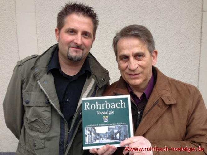 Die beiden Gestalter des Heimatbuches, Markus Schmitt und Karl Abel