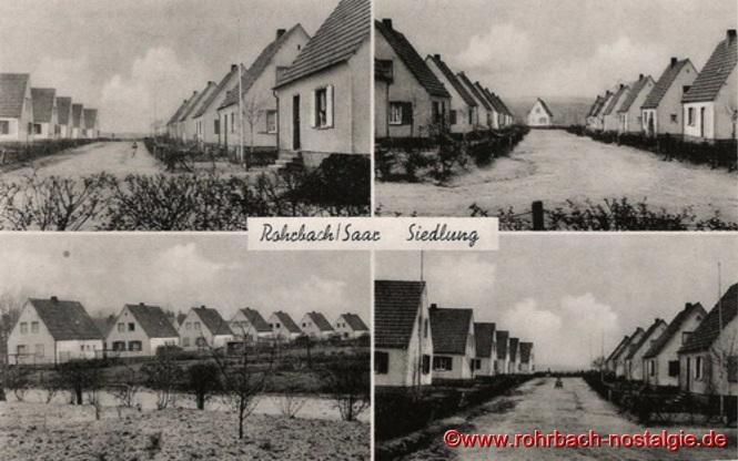 1944 - Die Rohrbacher Waldsiedlung am Tummelplatz