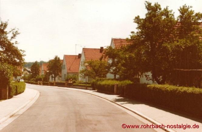 Alte Siedlungshäuser im Jahr 1976