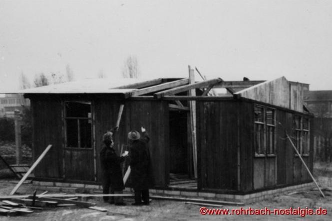 """1954 - Der """"Rohbau"""" ist fast fertig"""