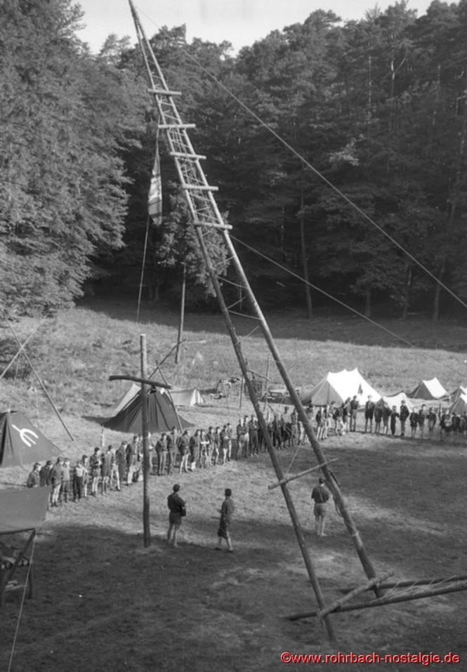 1963 - Pfingstlager im Frauental bei Kirkel