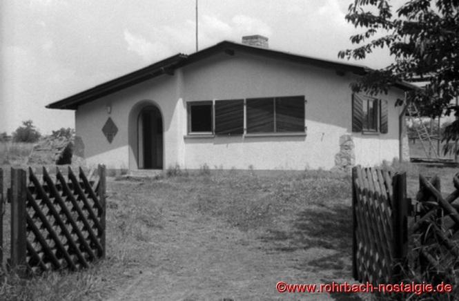 Das fertige Pfadfinderheim im Sommer 1964