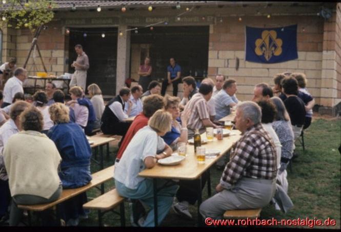 1988 - Das neue Pfadfinderheim im Rohbau