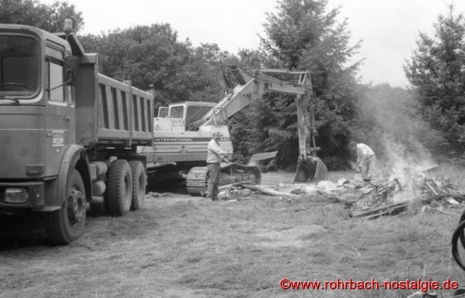 1989 - Abriss des Theodor Jansen Heims am Pfeifferwald