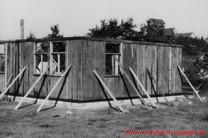 1954 - Das erste Pfadfinderheim auf dem Bremmenberg