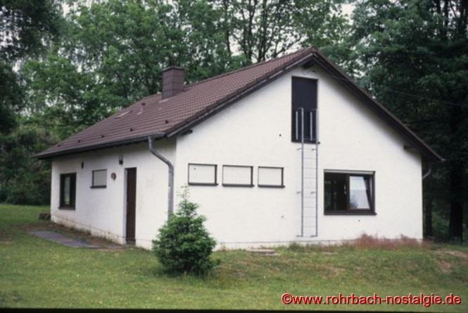 Das neue Pfadfinderheim in der Blücherstraße