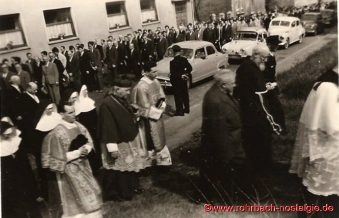 12. Mai 1957 - Ganz Rohrbach ist auf den Beinen