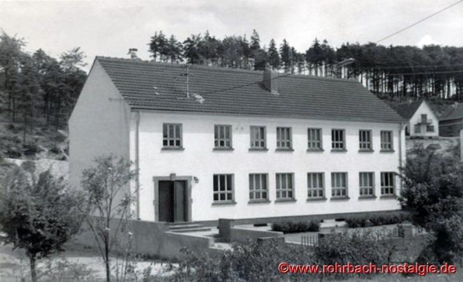 Das 1954 eingeweihte Jugendheim der Katholischen Pfarrgemeinde