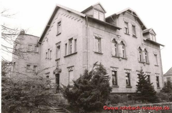 Das Schwesternhaus in der alten Schulstraße