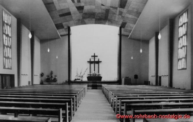 Innenansicht der St. Konradskirche