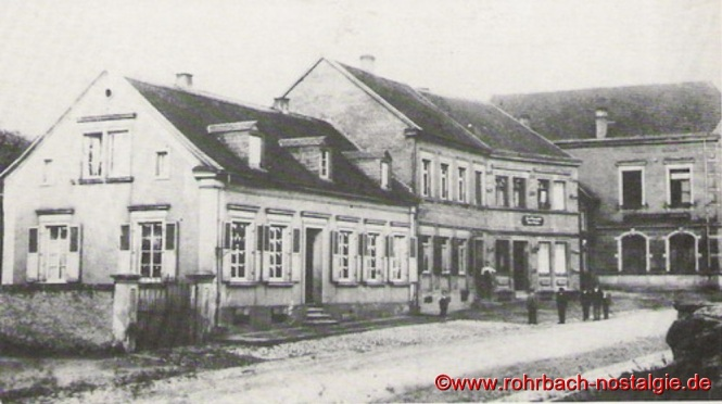 Das Pfarrhaus vor dem großen Umbau 1901