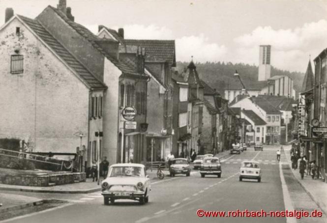 Um 1965 Blick in die Kaiserstraße