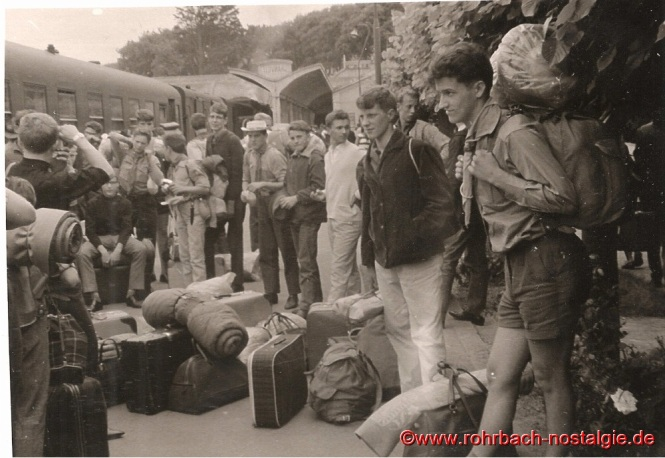 1964 Sommerlager in Granville
