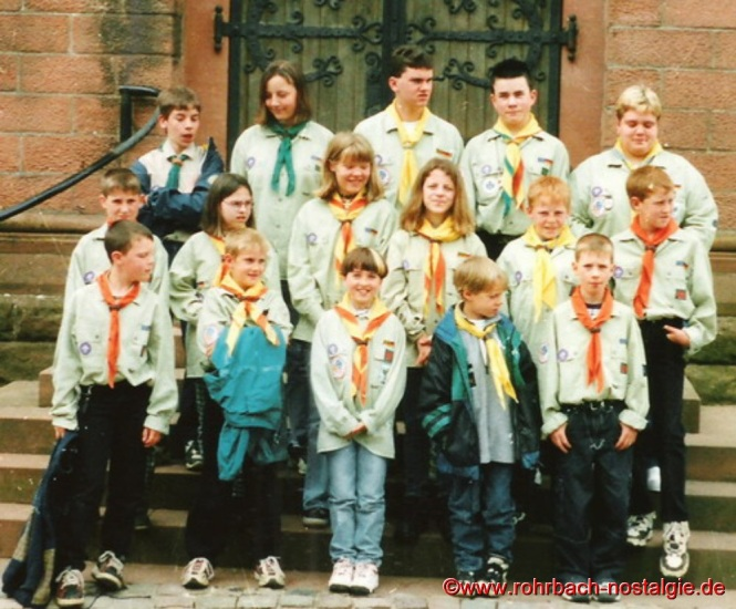 1998 Die St. Georgspfadfinder feiern ihr 50-jähriges Bestehen