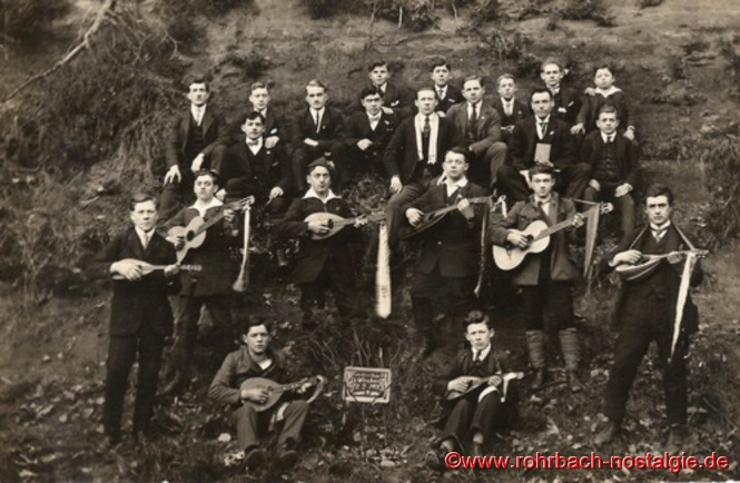 1920 – Die Männer der ersten Stunde des neugegründeten Vereins