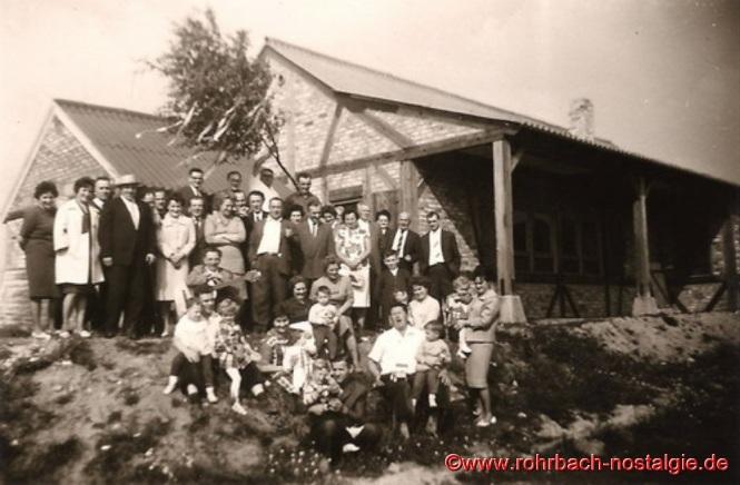 Richtfest wird am 23. September 1961 gefeiert