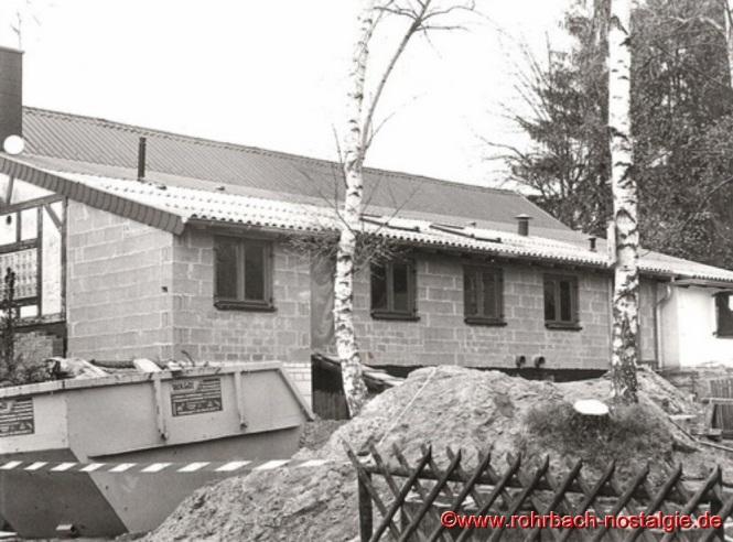 1999 - Die Edelweißhütte wird erweitert