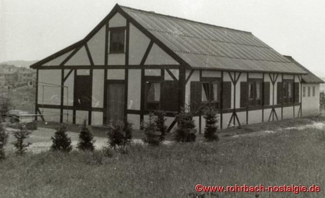 Die Edelweißhütte im Jahr 1963
