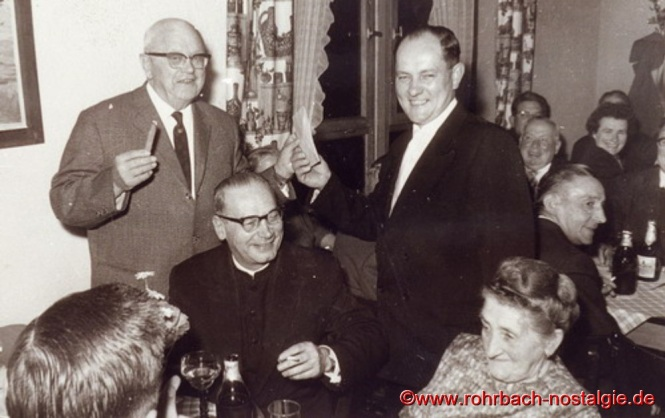 Bürgermeister Oberhauser und der erste Vorsitzende Eduard Wagner